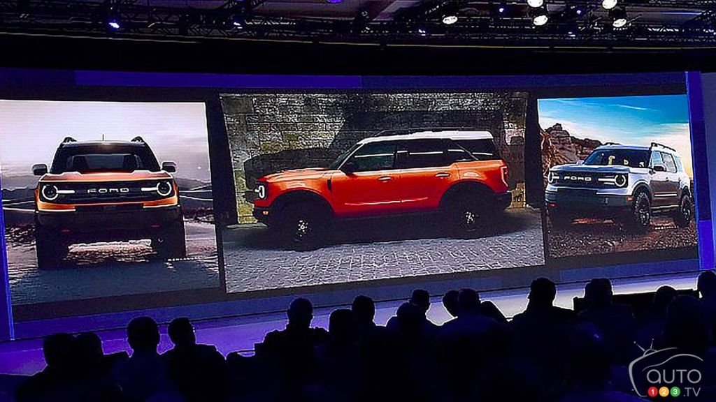 Images Surface Of The Upcoming Ford Bronco Baby Bronco
