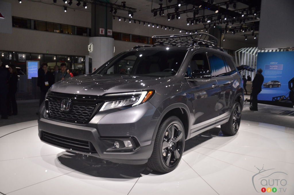 Honda reveals 2019 Passport ahead of Los Angeles Auto Show