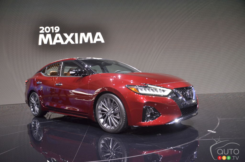 Los Angeles 2018: 2019 Nissan Maxima gets update | Car ...
