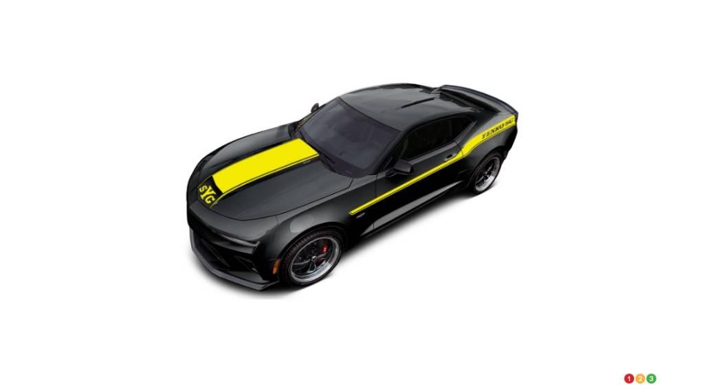 la chevrolet camaro yenko 2018 atteint 1 000 chevaux actualit s automobile auto123. Black Bedroom Furniture Sets. Home Design Ideas