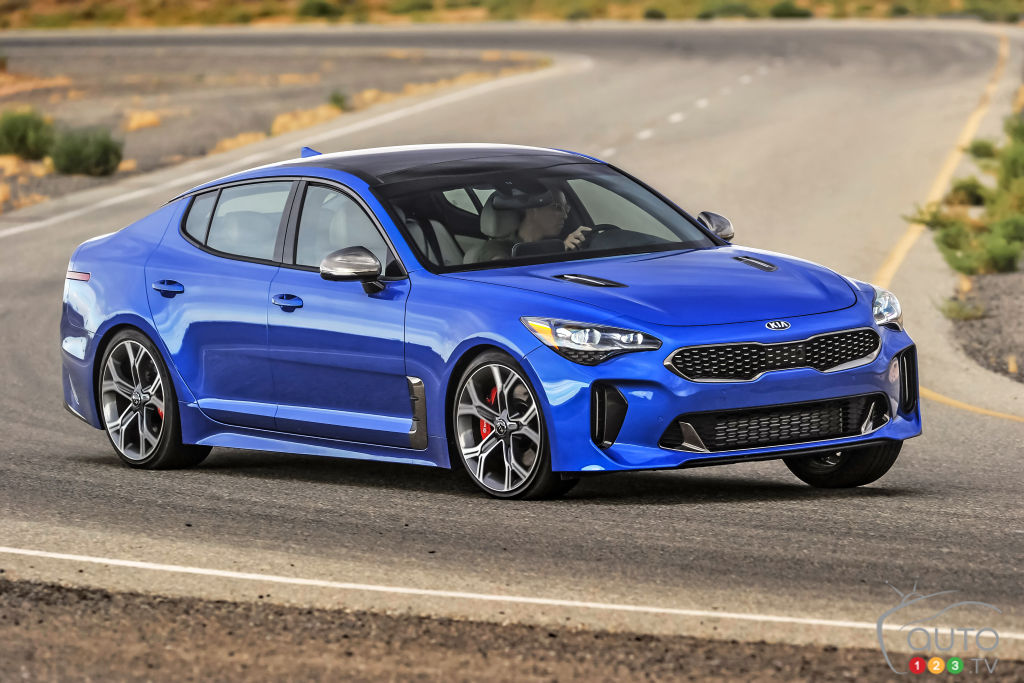 la kia stinger 2018 remporte de nouveaux prix et troph es actualit s automobile auto123. Black Bedroom Furniture Sets. Home Design Ideas