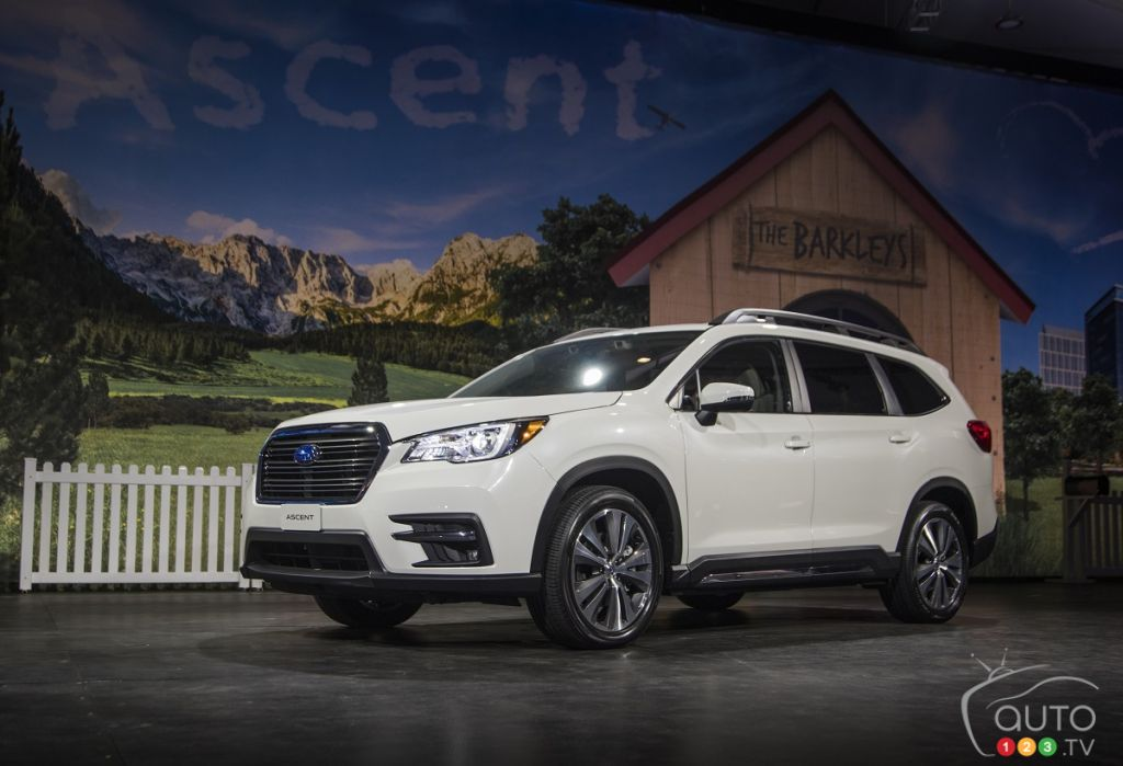2019 Subaru Ascent posts attractive base price in Canada ...