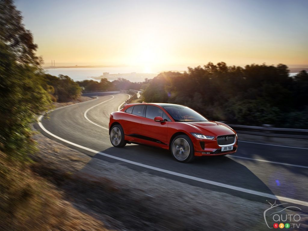 Jaguar reveals first-ever electric SUV