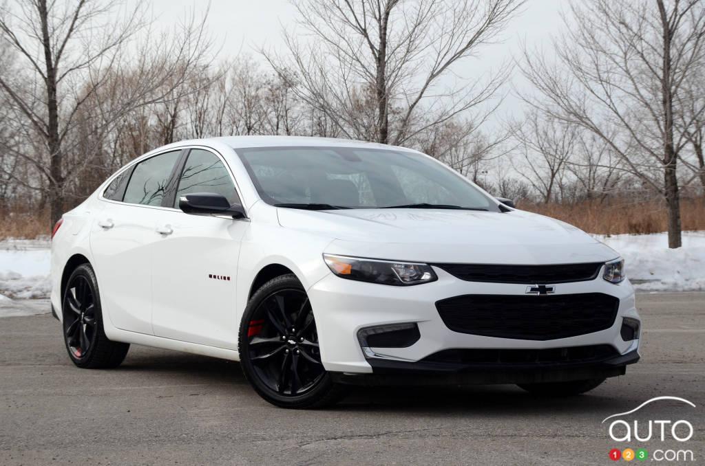 Chevrolet Malibu 2018 : essai et prix | Essais routiers ...