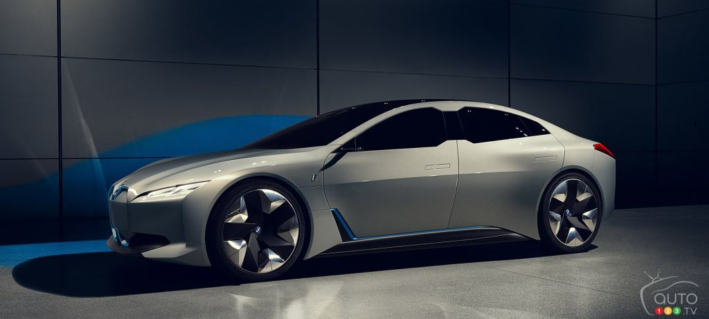bmw i4 and its 700 km range to debut in 2020