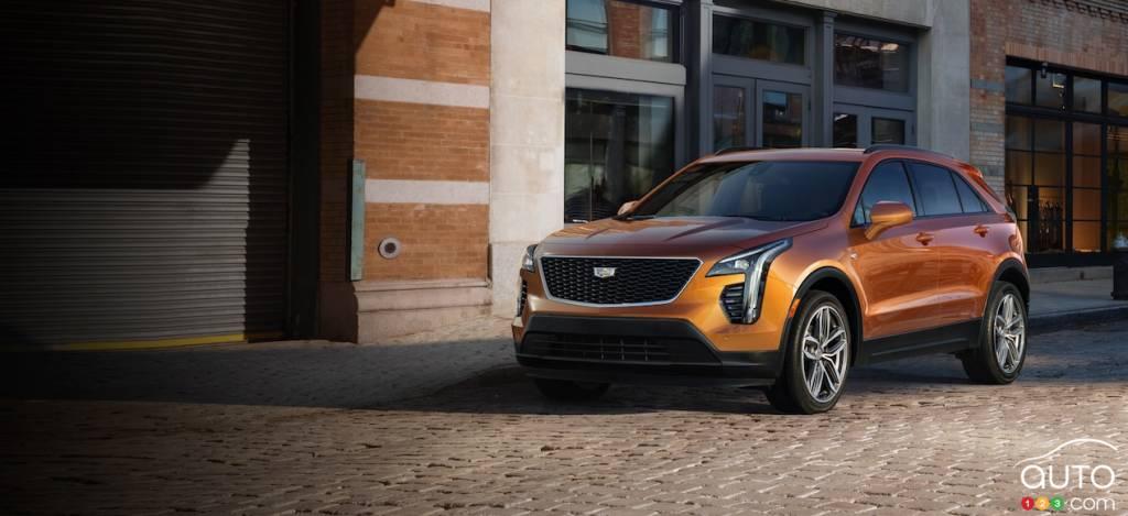 cadillac pr sente le xt4 2019 new york actualit s automobile auto123. Black Bedroom Furniture Sets. Home Design Ideas