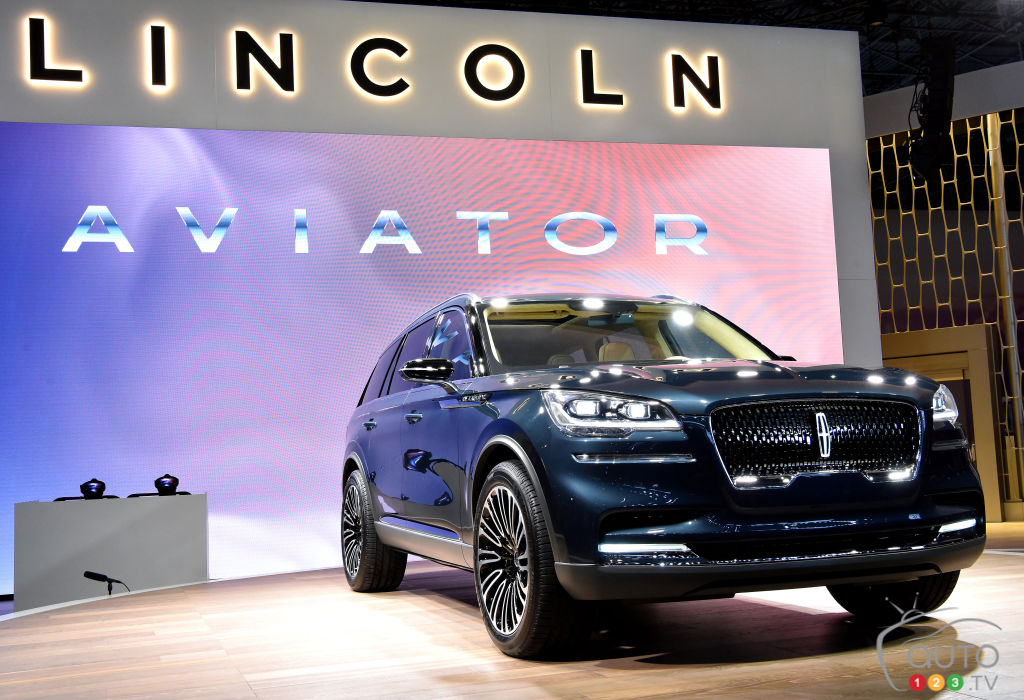Lincoln Aviator will look nearly identical to the concept
