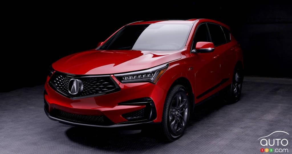 L'Acura RDX 2019 fait ses débuts à New York | Actualités ...