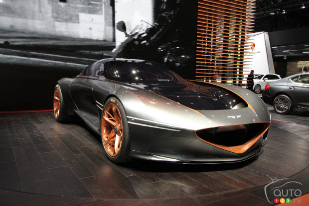 Genesis Essentia Concept Steals Show In NYC
