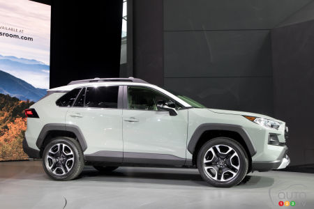 canadian debut for the 2019 toyota rav4 in edmonton | car