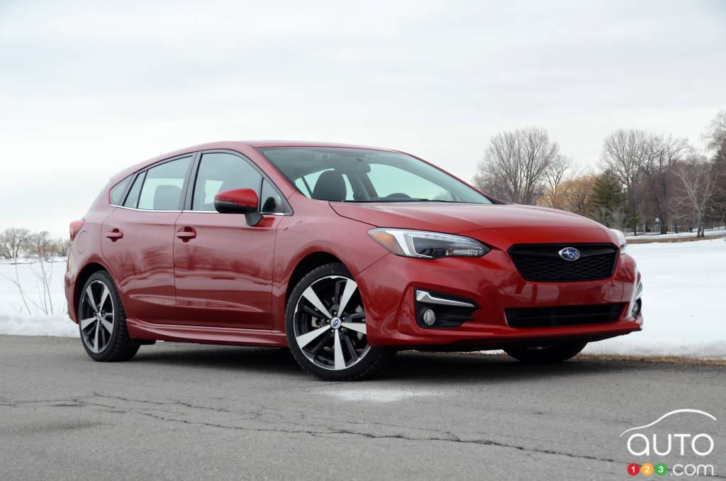 Auto123.com Review Of The 2018 Subaru Impreza Sport Tech | Car Reviews |  Auto123