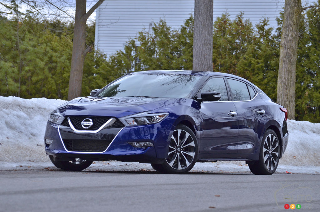 Review Of The 2018 Nissan Maxima Car Reviews Auto123
