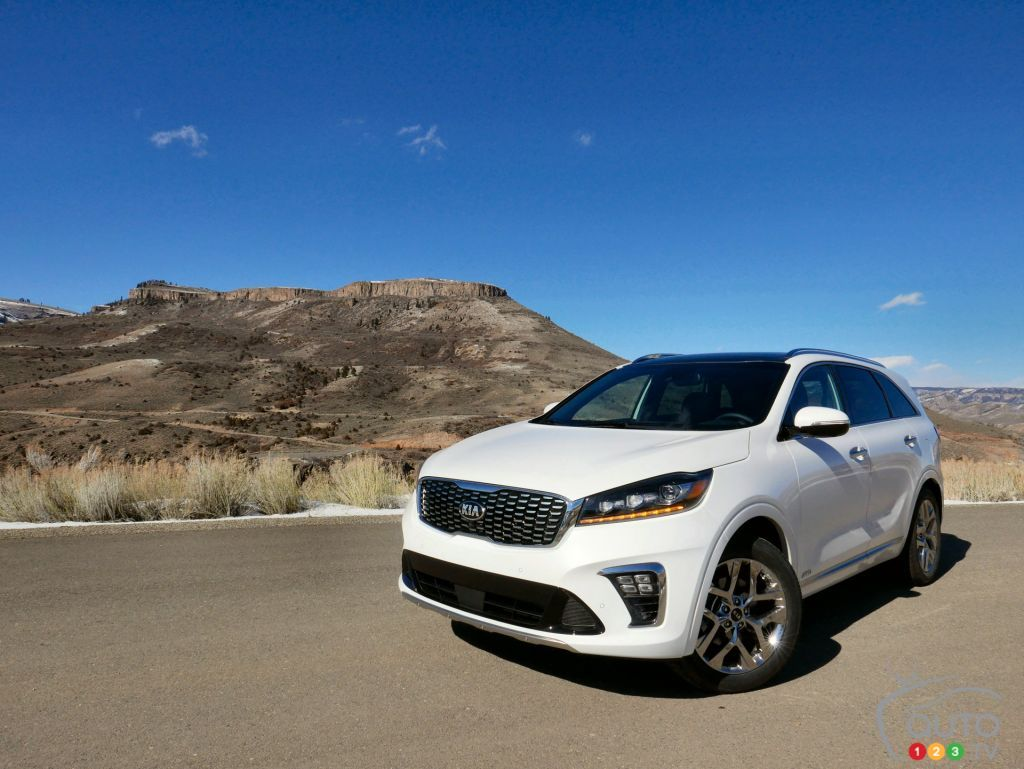 kia announces canadian prices for the 2019 sorento car news auto123. Black Bedroom Furniture Sets. Home Design Ideas
