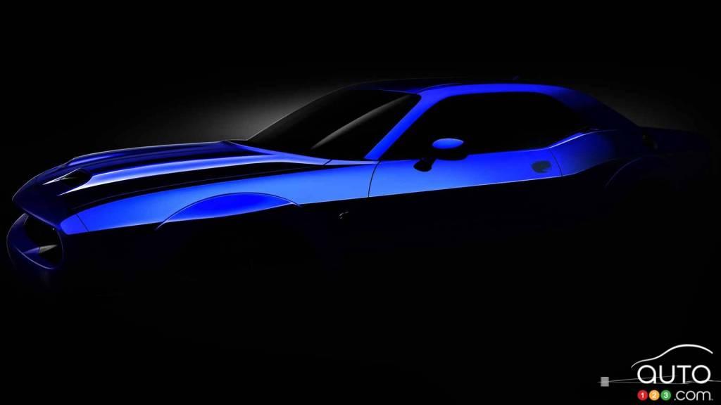De menues retouches pour le millésime 2019 — Dodge Challenger