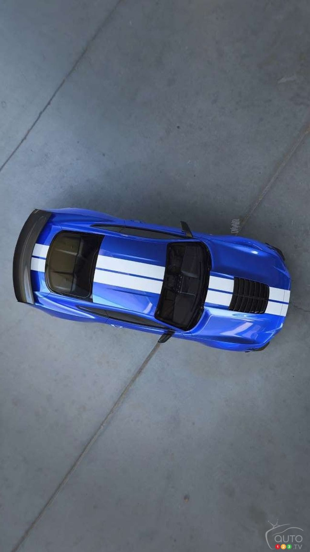 Ford releases image of the future Mustang GT500 | Car News | Auto123