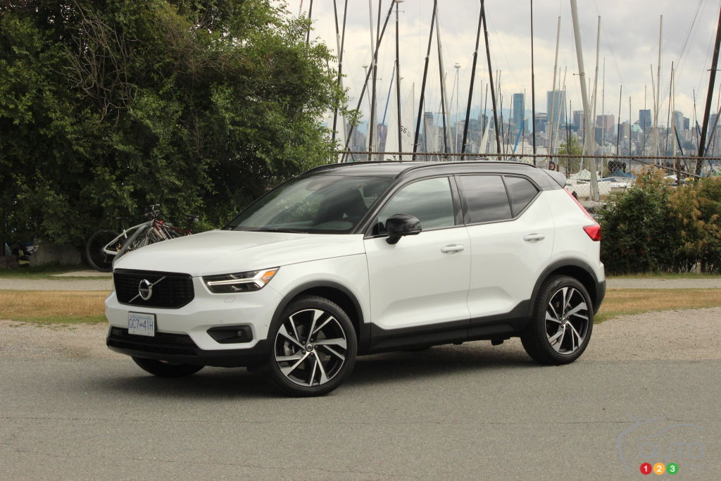 essai du volvo xc40 r design 2019 essais routiers auto123. Black Bedroom Furniture Sets. Home Design Ideas