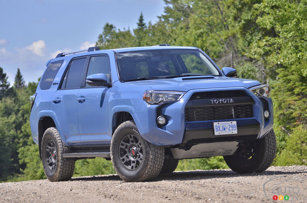 Review Of The 2018 Toyota 4runner Trd Pro Car Reviews Auto123