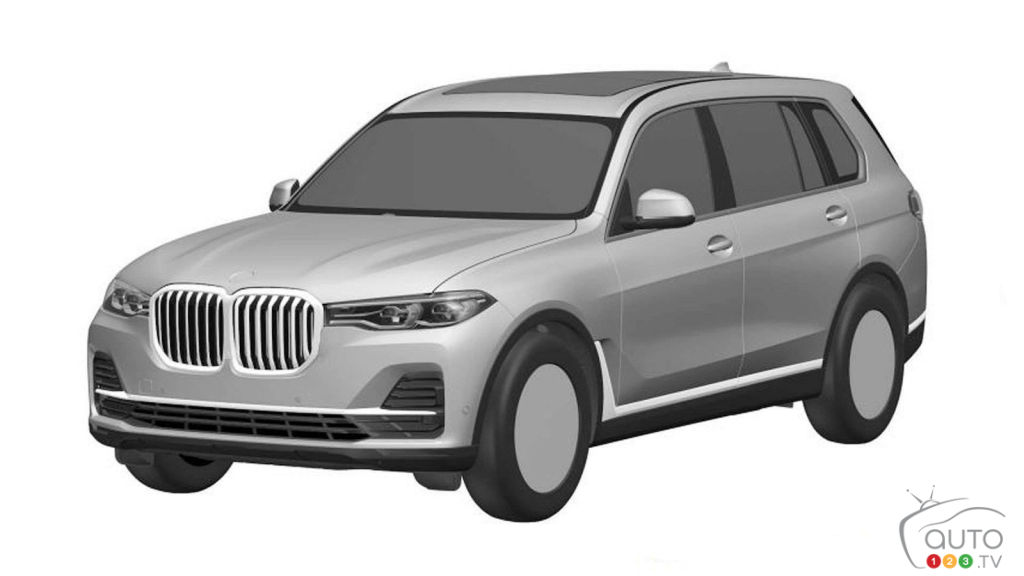 First Sketches Appear Of The New Bmw X7 Car News Auto123