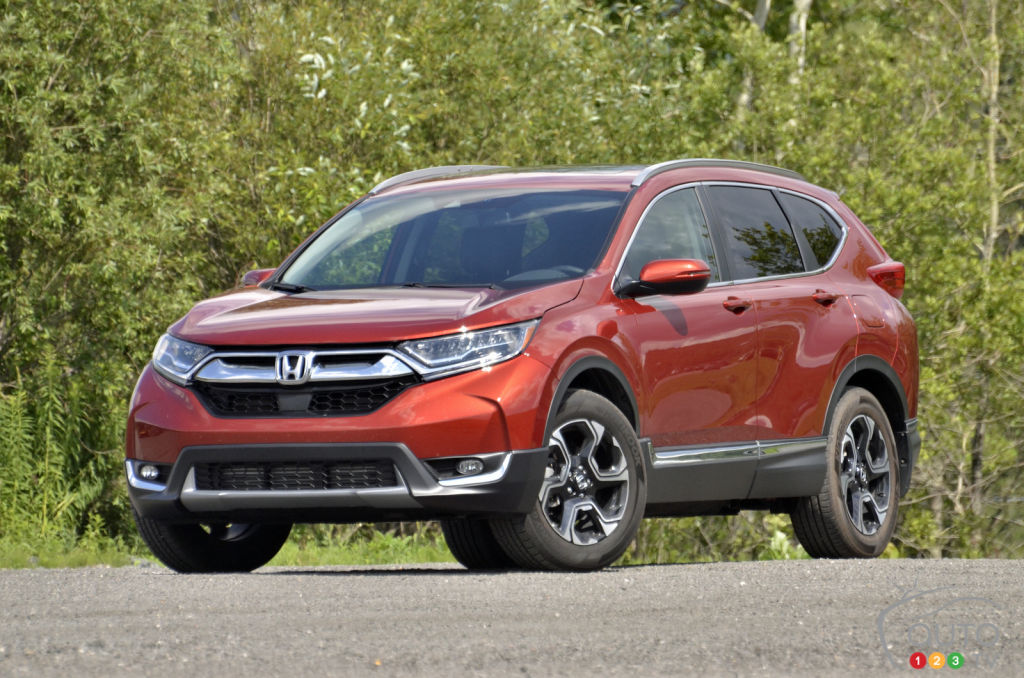 essai du honda cr v touring 2018 actualit s automobile auto123. Black Bedroom Furniture Sets. Home Design Ideas