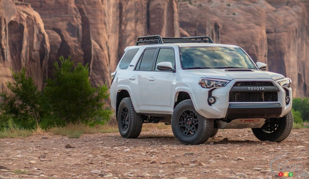2019 Toyota 4runner A New Version Upgraded Trd Pro Car News Auto123