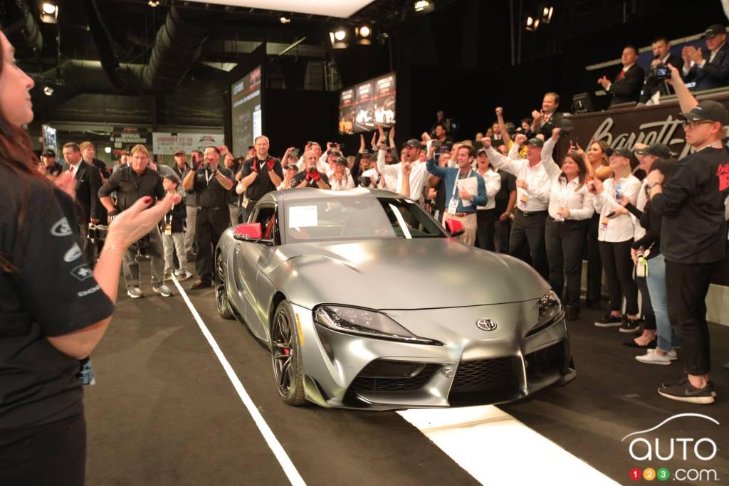 Toyota Supra (2019) : on connaît enfin son prix français