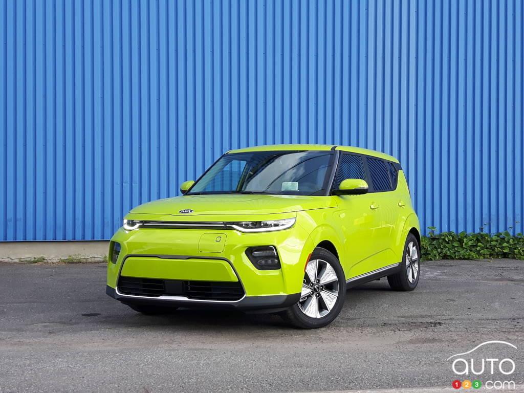 2020 Kia Soul Ev Review Car Reviews Auto123
