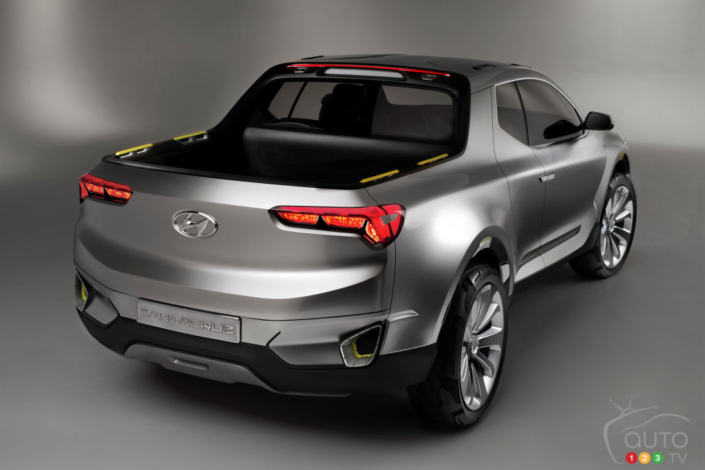 Production of Hyundai's Santa Cruz truck confirmed for 2021