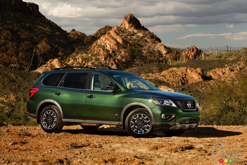 Rock Creek special edition of the 2019 Nissan Pathfinder ...