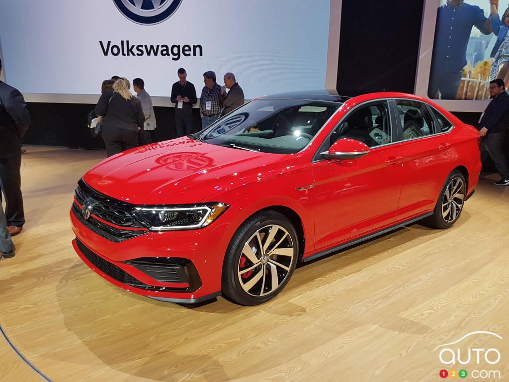 Chicago 2019 : La Volkswagen Jetta GLI 2019 présentée ...