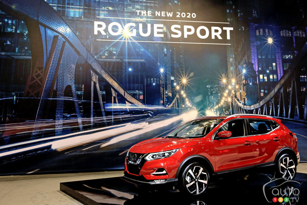 Chicago 2019: 2020 Nissan Qashqai makes debut appearance ...