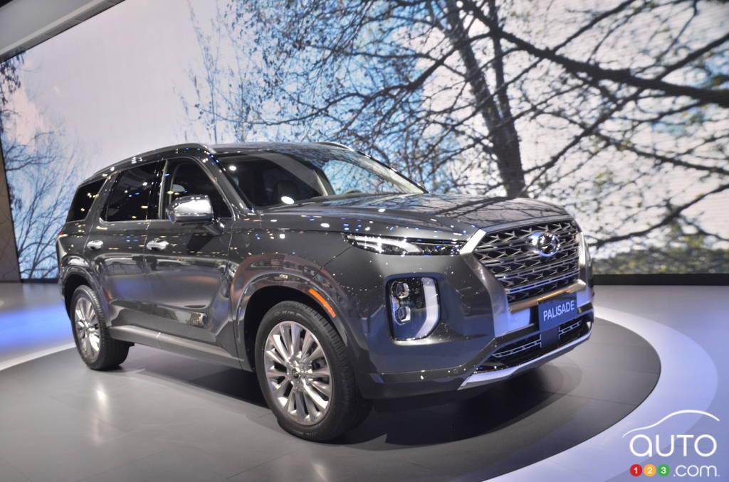 Toronto 2019: Canadian debut of the 2020 Hyundai Palisade ...