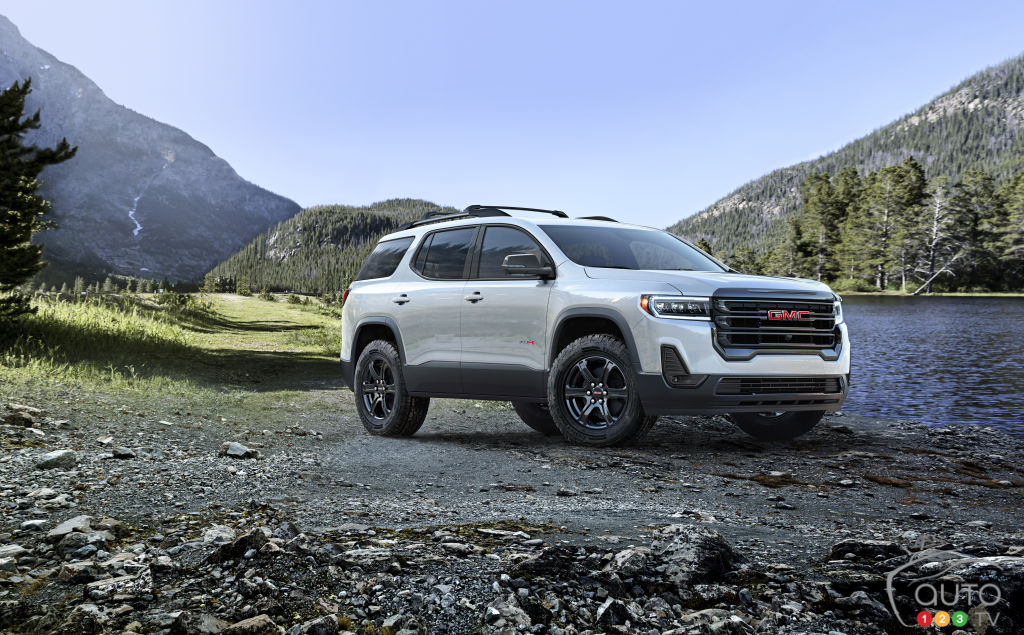 Gmc Presents A Revised Acadia For 2020 Car News Auto123
