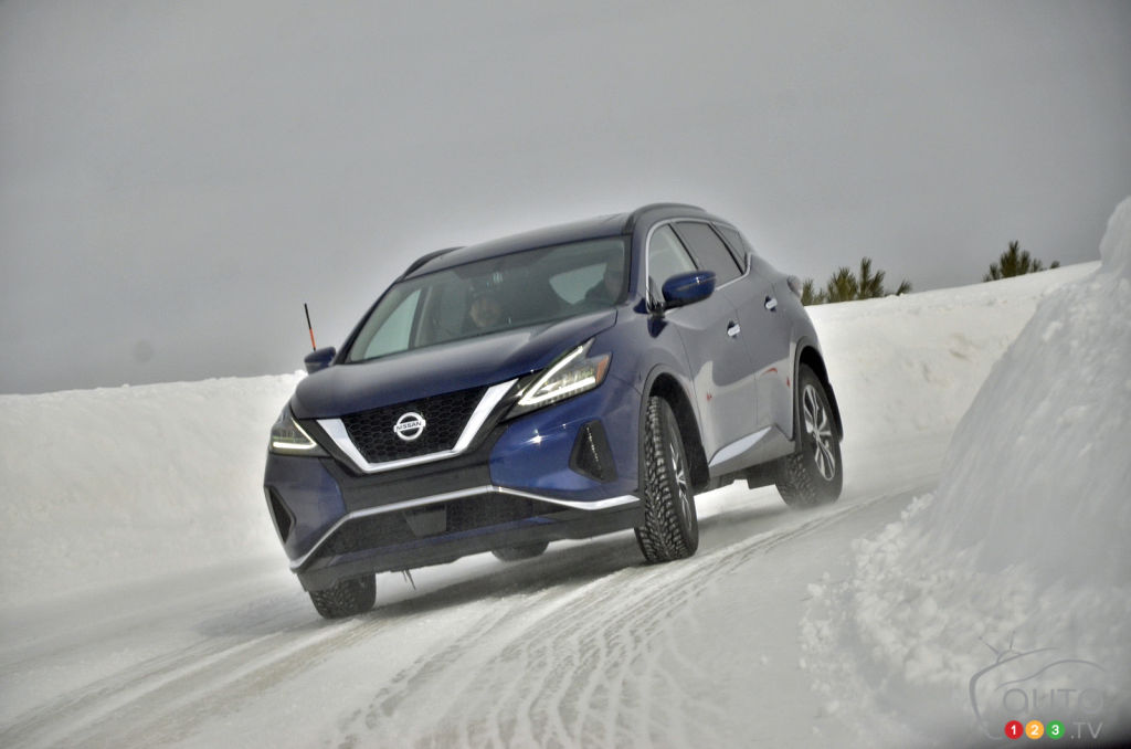 2019 Nissan Murano Reviewed in the Snow: Getting Things Right