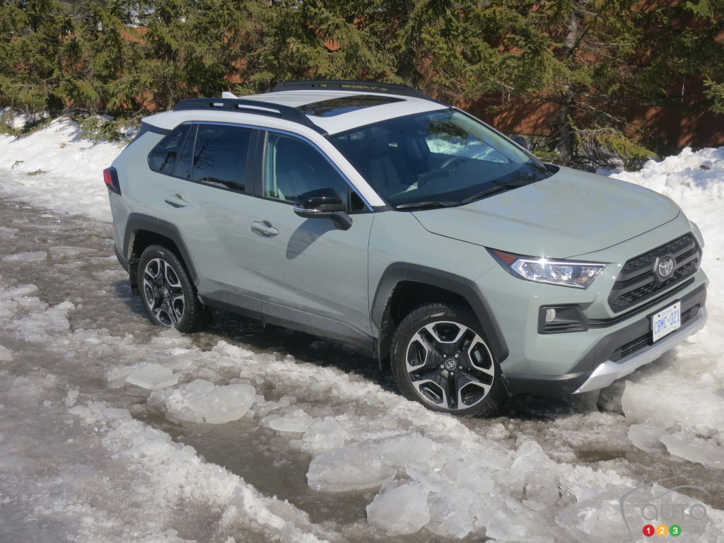 2019 Toyota Rav4 Trail Review Car Reviews Auto123