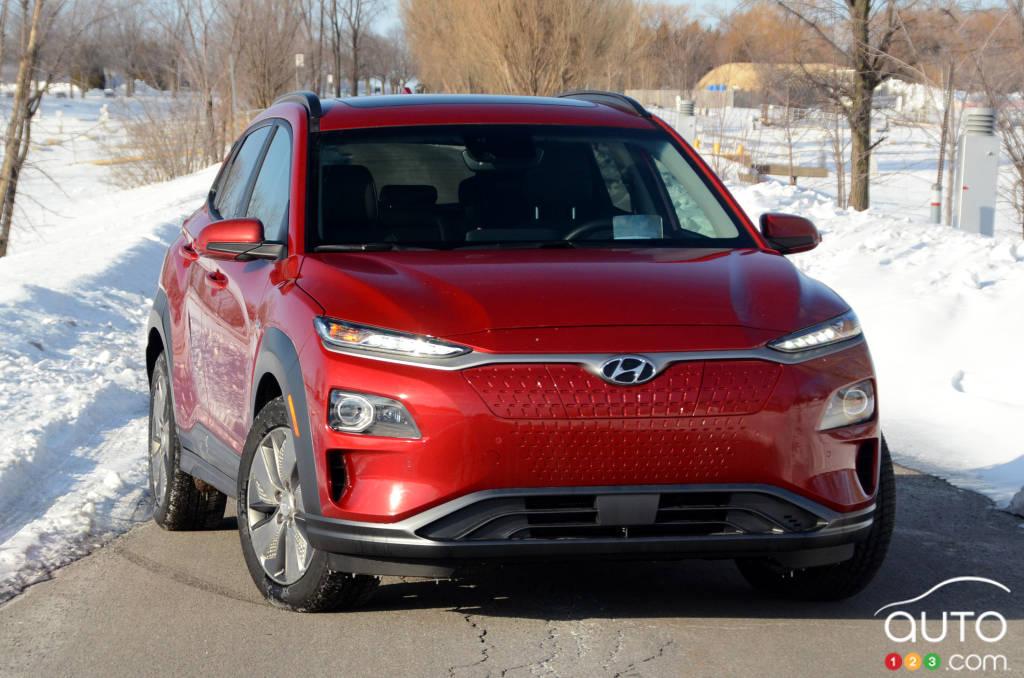 Hyundai Santa Fe 2017 >> 2019 Hyundai Kona Electric Review | Car Reviews | Auto123