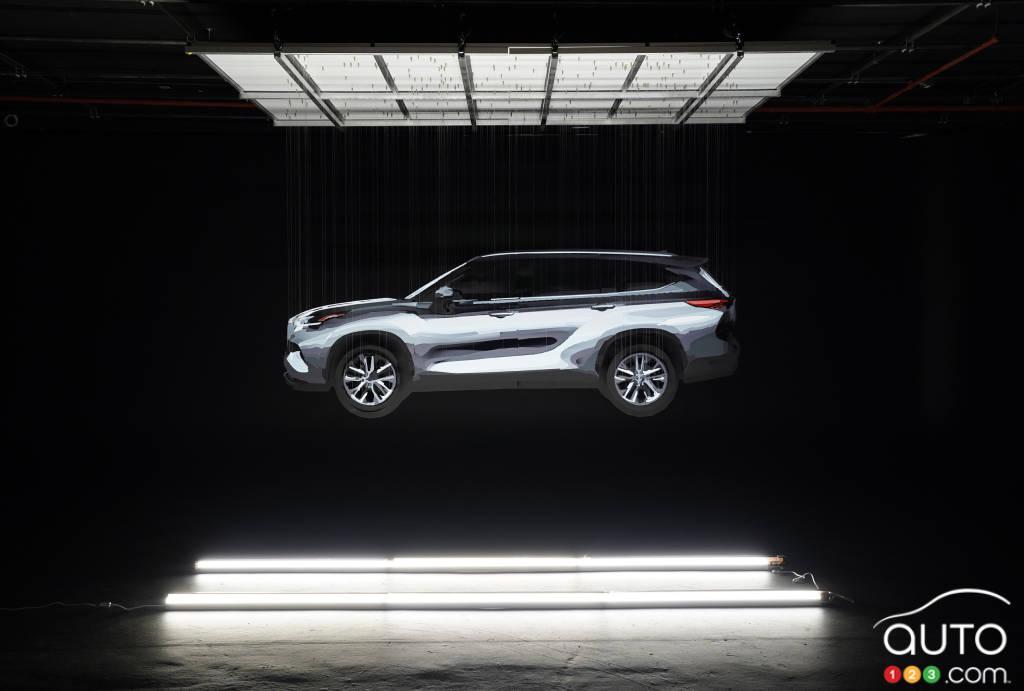 2020 Toyota Highlander teased before New York premiere ...