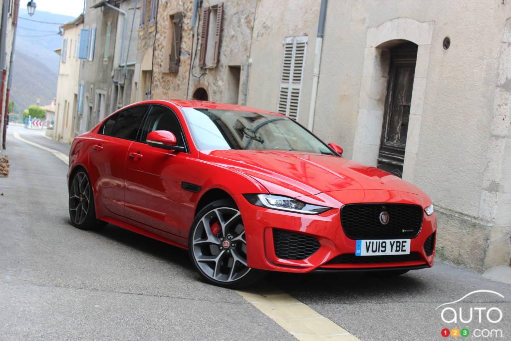 2020 jaguar xe first drive