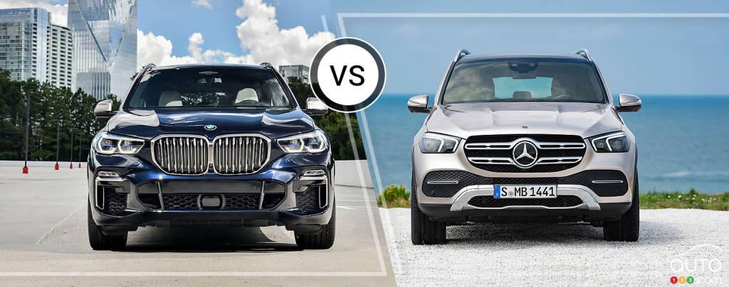 Comparison 2019 Bmw X5 Vs 2019 Mercedes Benz Gle Car Reviews