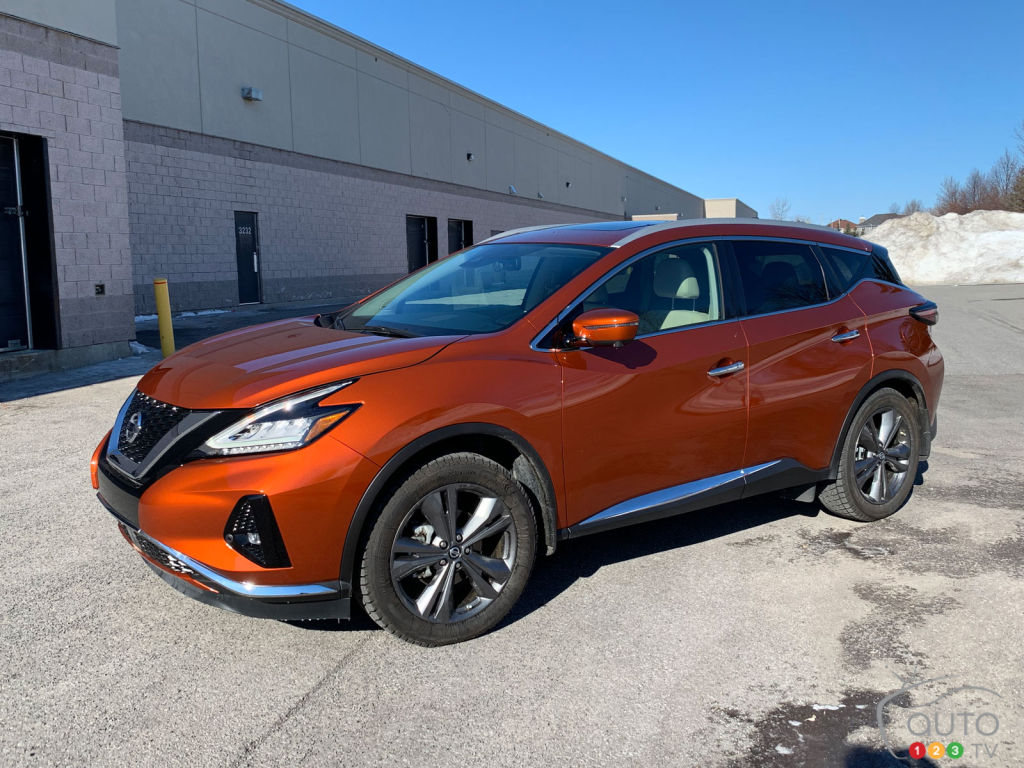 2019 Nissan Murano Review: Not Like All the Others