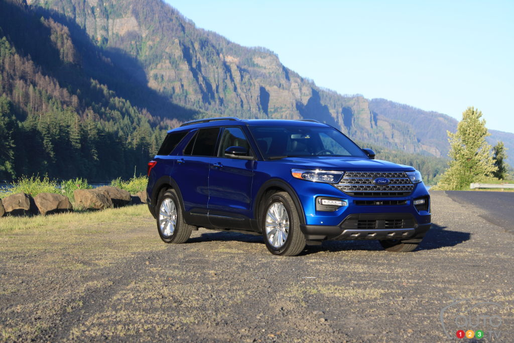 Ford Explorer Towing Capacity >> 2020 Ford Explorer First Drive | Car Reviews | Auto123