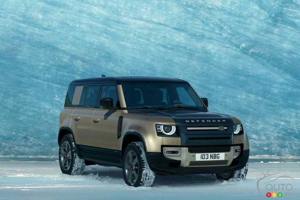 2020 Land Rover Discovery Is Built On The New Architecture >> Frankfurt 2019 Land Rover Finally Unveils 2020 Defender