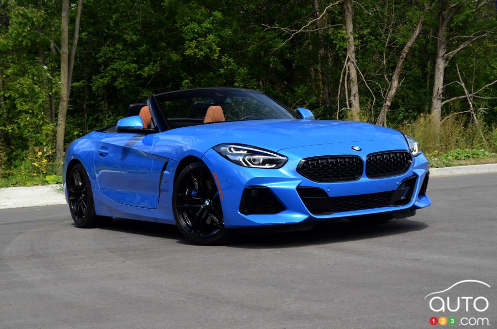 2020 bmw z4 m40i review car reviews auto123 auto123