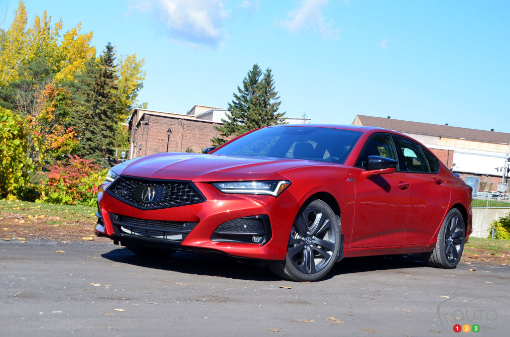 2021 Acura Tlx A Spec Review Car Reviews Auto123