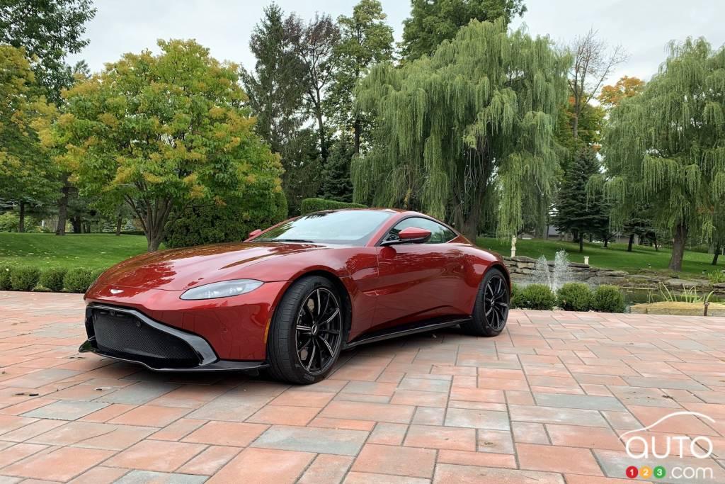 2020 Aston Martin Vantage Review Car Reviews Auto123