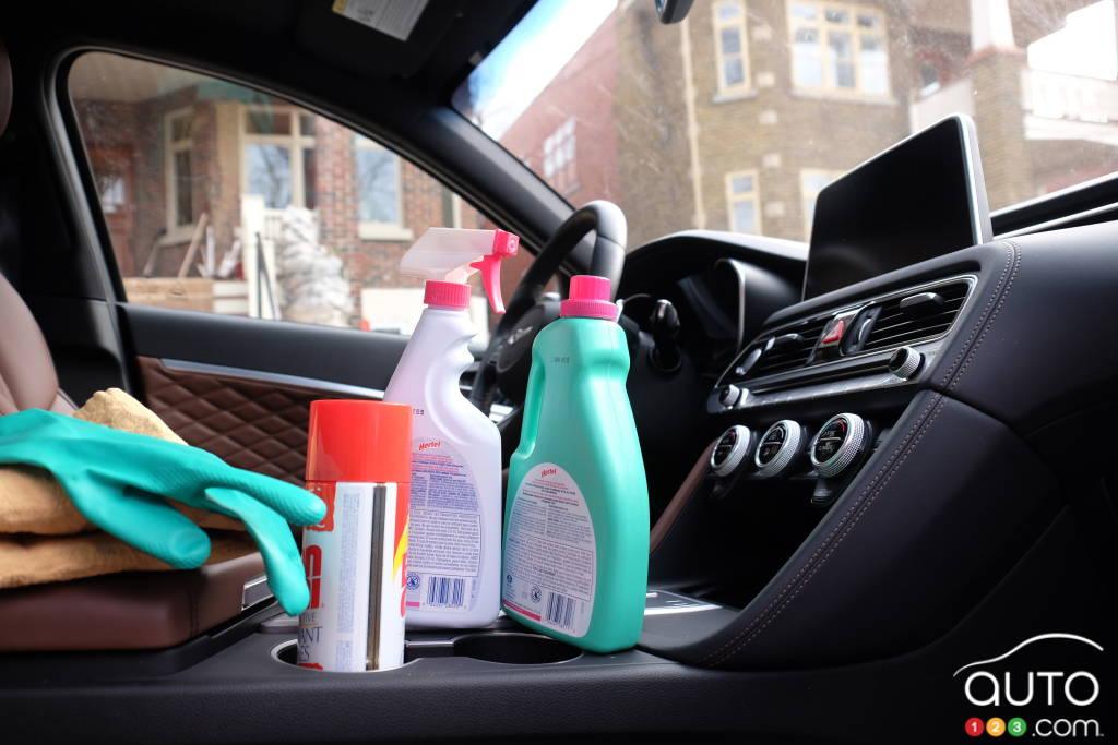 Coronavirus How To Clean Your Car Interior Properly Car News Auto123