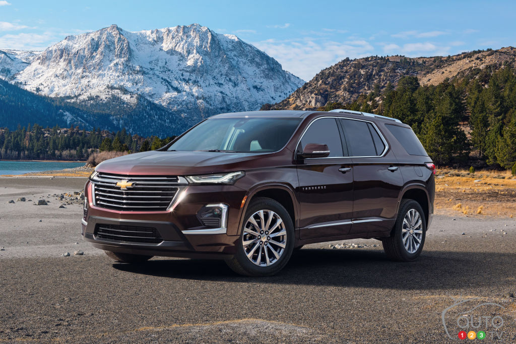 More safety features for the 2021 Chevrolet Traverse | Car ...
