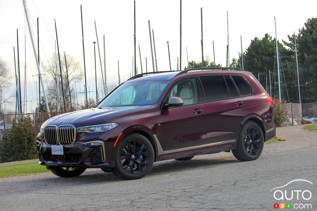 2020 Bmw X7 M50i Review Car Reviews Auto123