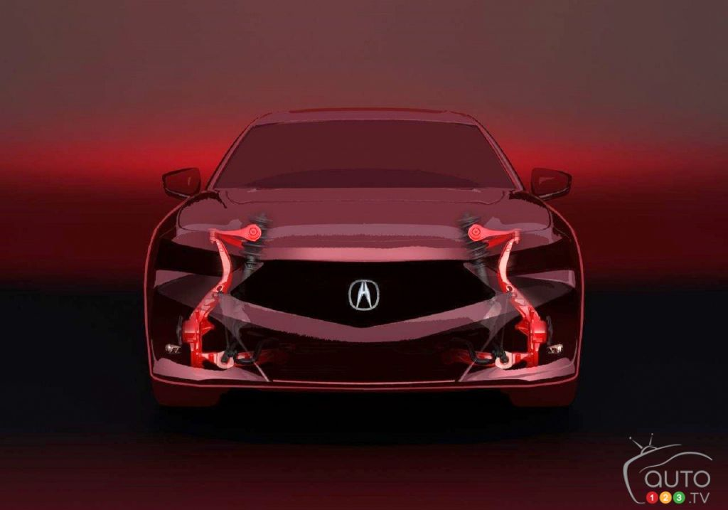 More Details On The 2021 Acura Tlx Car News Auto123