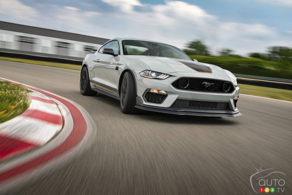 2021 Ford Mustang Mach 1 details, images revealed   Car ...