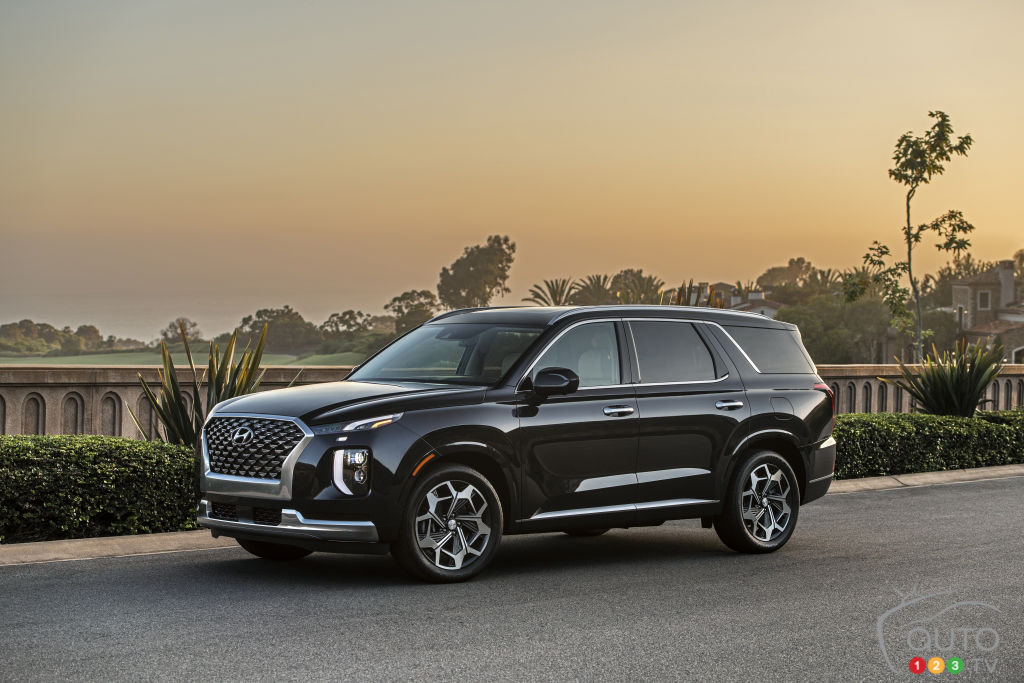 A new high-end version for the Hyundai Palisade | Car News ...